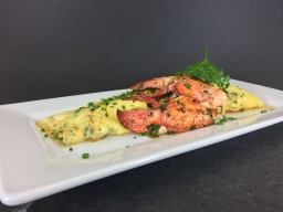 Lobster Omelette with Fine Herbs