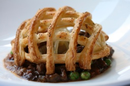 Lamb Navarin with pastry cage